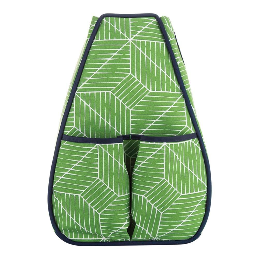 40 Love Courture – Women 's Sophiテニスバックパック – ( 1017-u17 ) B0731X2721 Green Grid Green Grid