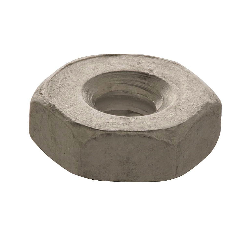 Crown Bolt 18522#10-24 Coarse Thread Zinc-Plated Machine Screw Nuts 100-Count