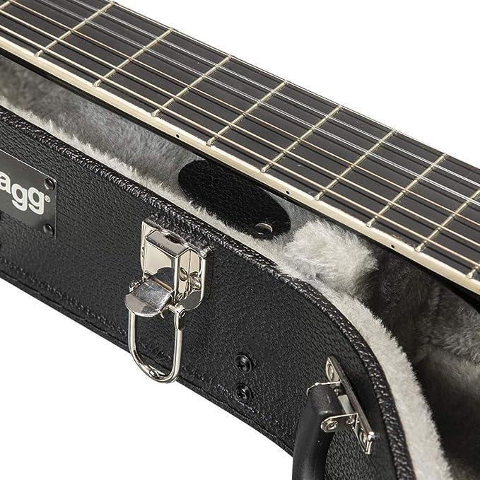 Stagg GEC-C - Estuche para guitarra clásica, color negro