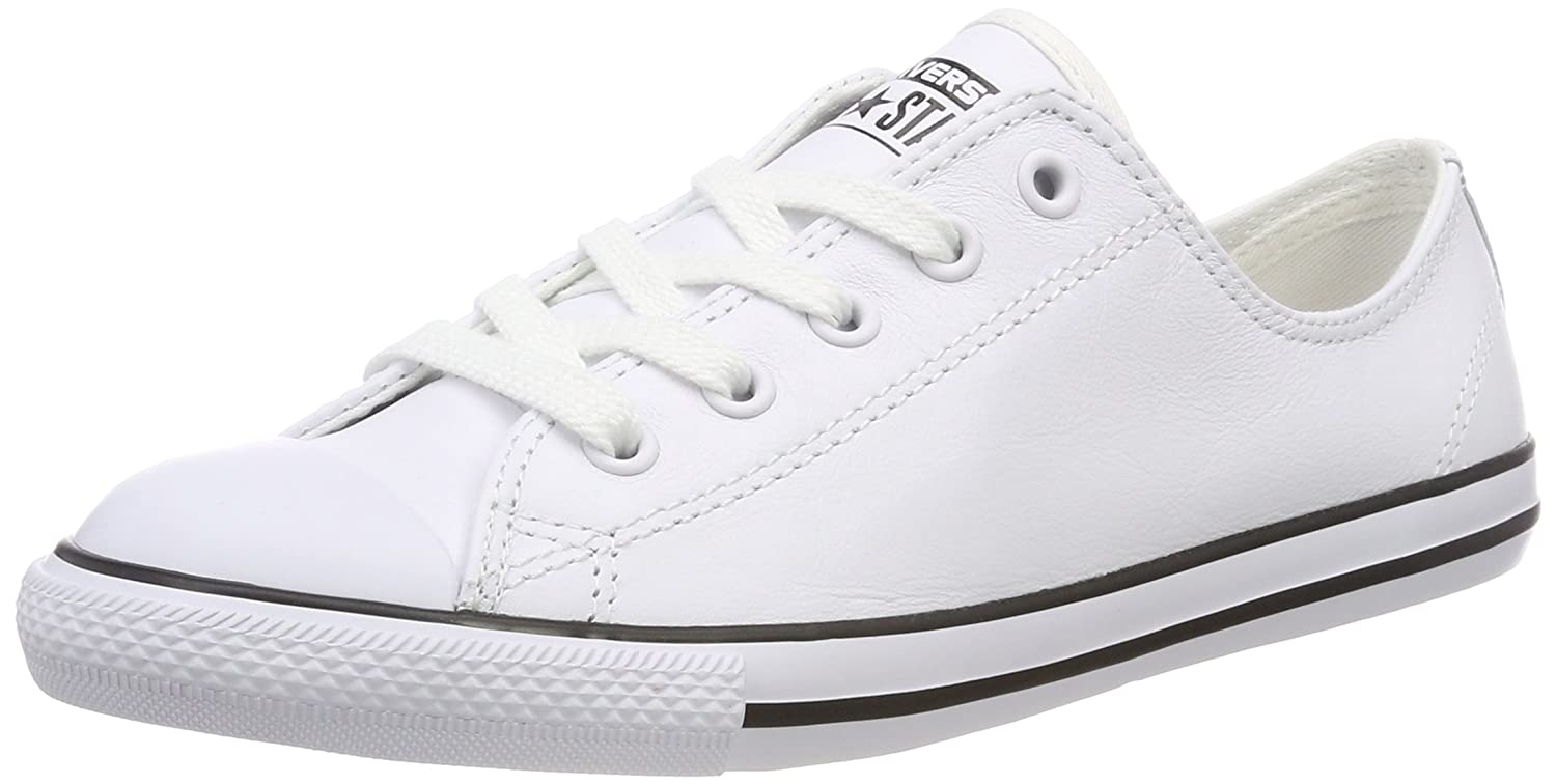 Converse Women's Chuck Taylor All Star Dainty Ox Casual Shoe B00AKCAUF8 8 B(M) US|White