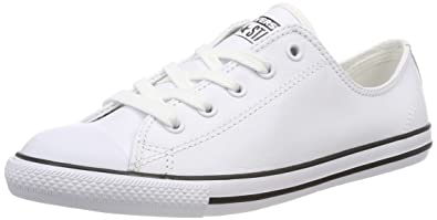 Neue Converse Chuck Taylor All Star Dainty Weiß Sneakers