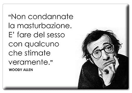 Enjoymagnets Woody Allen Imán Con Frase De Amapolas