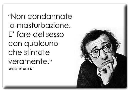 Enjoymagnets Woody Allen - Imán con Frase de Amapolas ...