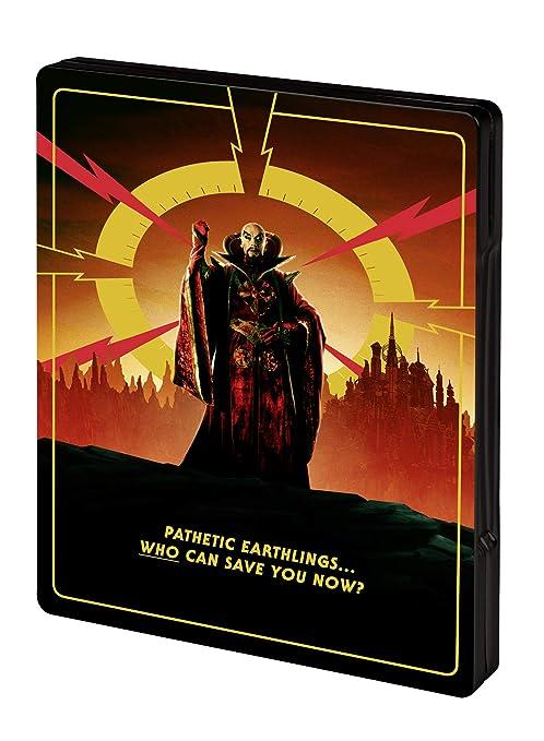 Flash Gordon - Limited Steelbook Edition 4K Ultra HD + Blu-ray ...