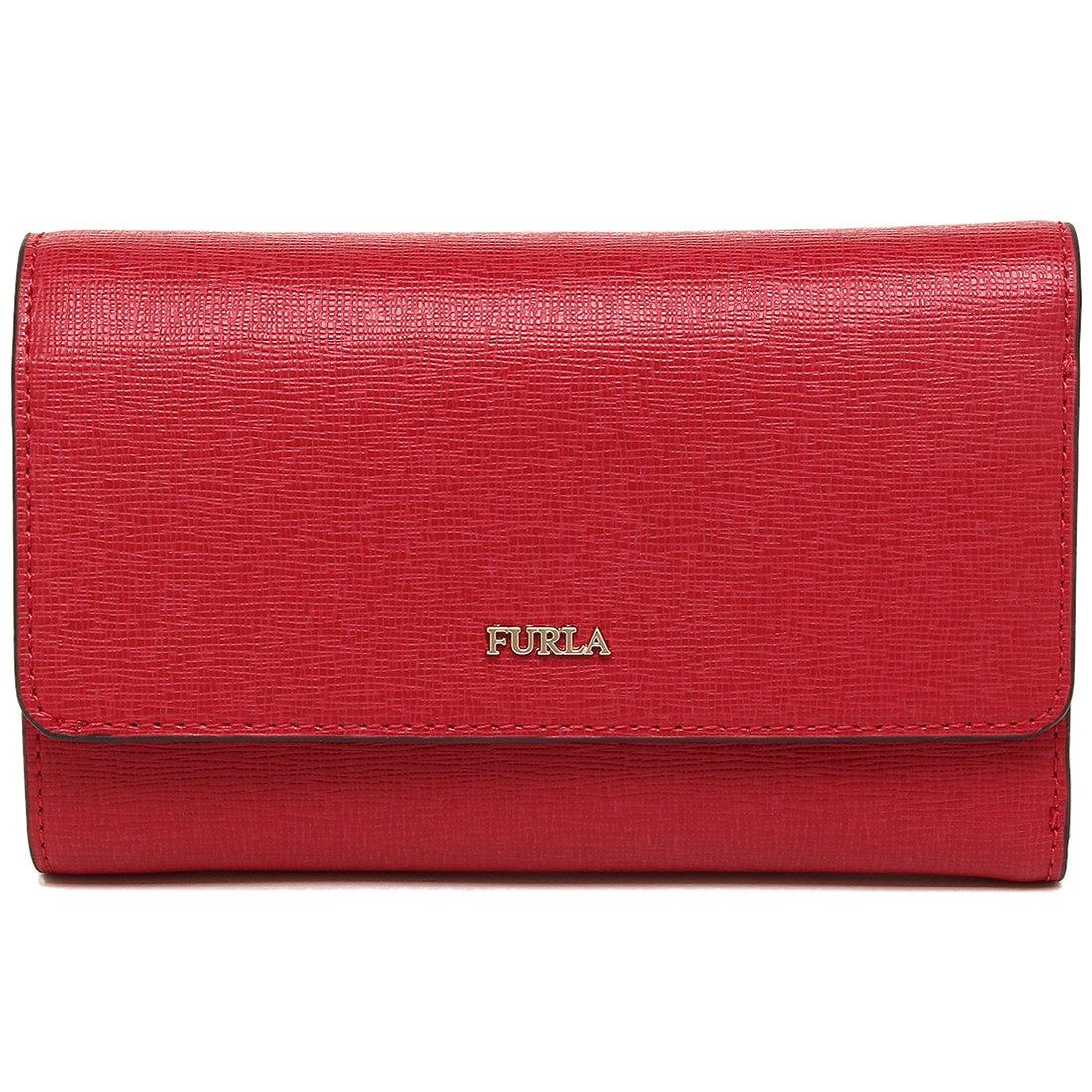 e52f62d89efd Amazon   [フルラ] 三つ折り財布 レディース FURLA 943533 PU76 B30 RUB レッド [並行輸入品]   財布