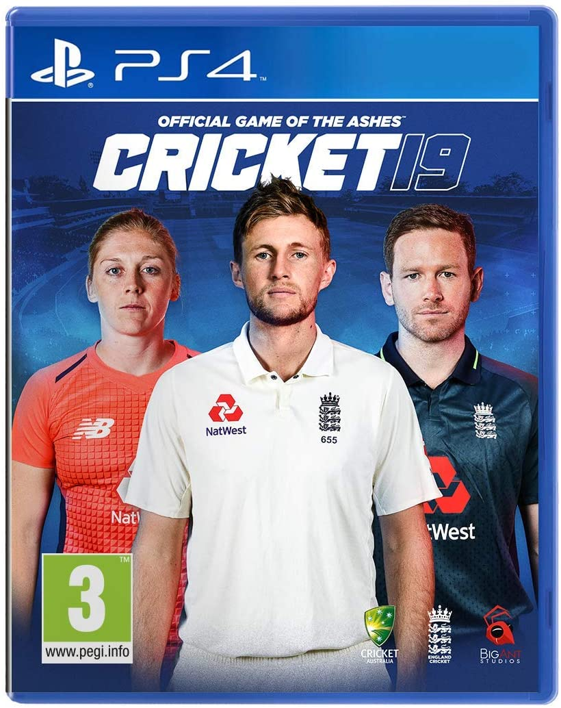 Cricket 19 - The Official Game of the Ashes - PlayStation 4 - PlayStation 4 [Importación inglesa]: Amazon.es: Videojuegos