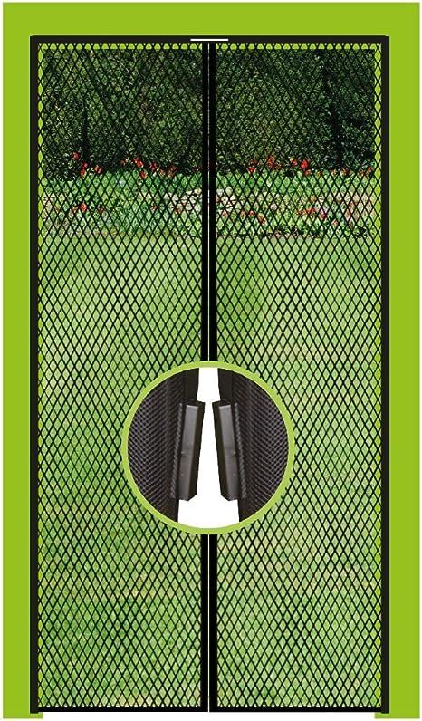 Fliegengitter T/ür ohne Bohren f/ür Balkont/ür Wohnzimmer Terrassent/ür-70 Insektenschutz Magnet Vorhang Fliegengitter Moskitonetz LDHVF Magnetische Screen Door,Fliegengitter T/ür 200cm