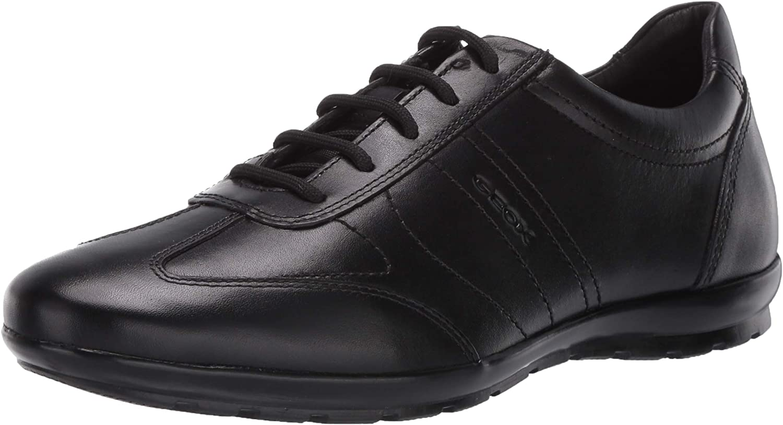 Geox Uomo Symbol B, Zapatos de Cordones Oxford para Hombre