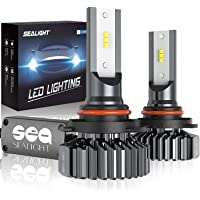 $32 » SEALIGHT Scoparc 9005/HB3 LED Headlight Bulbs 12000LM Conversion Kit Plug and Play, High…