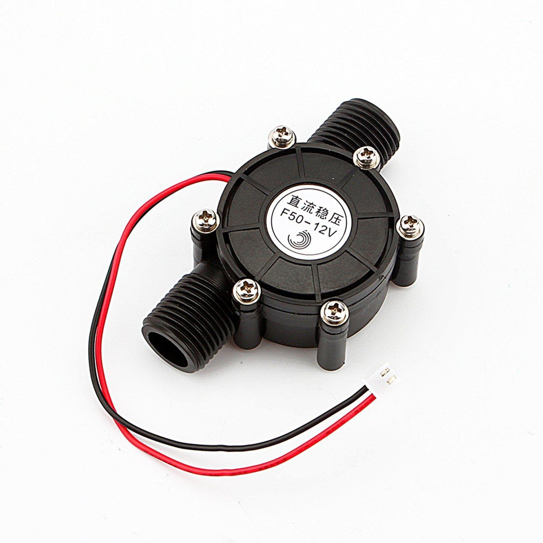 Yosoo DC Water Turbine Generator Water 12V DC 10W Micro-Hydro Water Charging Tool