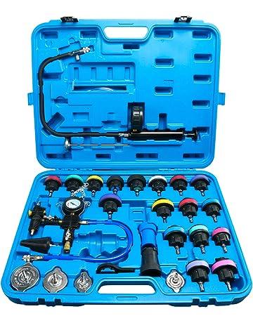 FreeTec Sistema di Raffreddamento a Vuoto Kit Universale per rilevatore di Pressione del radiatore