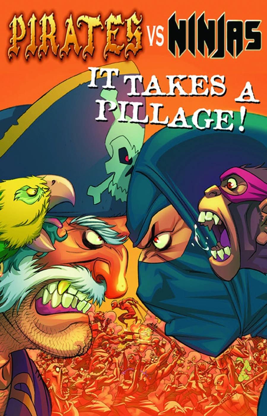 Pirates Vs. Ninjas: It Takes A Pillage Pocket Manga: Dan ...