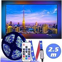 LED Tira De TV, Diyife 2.5M 75 Leds