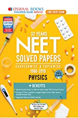 Oswaal NEET Question Bank Chapterwise & Topicwise Class 12 Physics (For March 2020 Exam) Kindle Edition