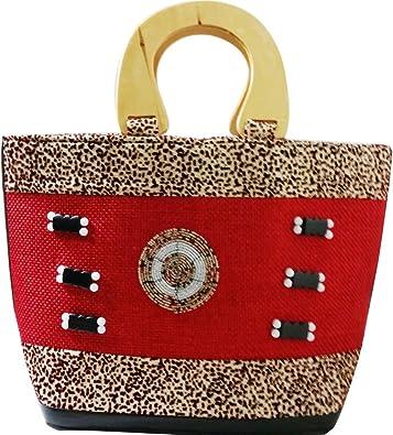 Amazon.com: Kenya bolsa rojo: Shoes