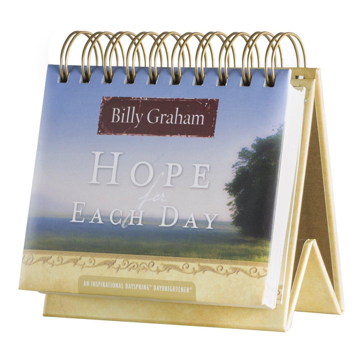 dayspring Billy Graham tapa de la esperanza para cada día con tapa Graham perpetuo calendario, 366 días de inspiración (77910) c13319