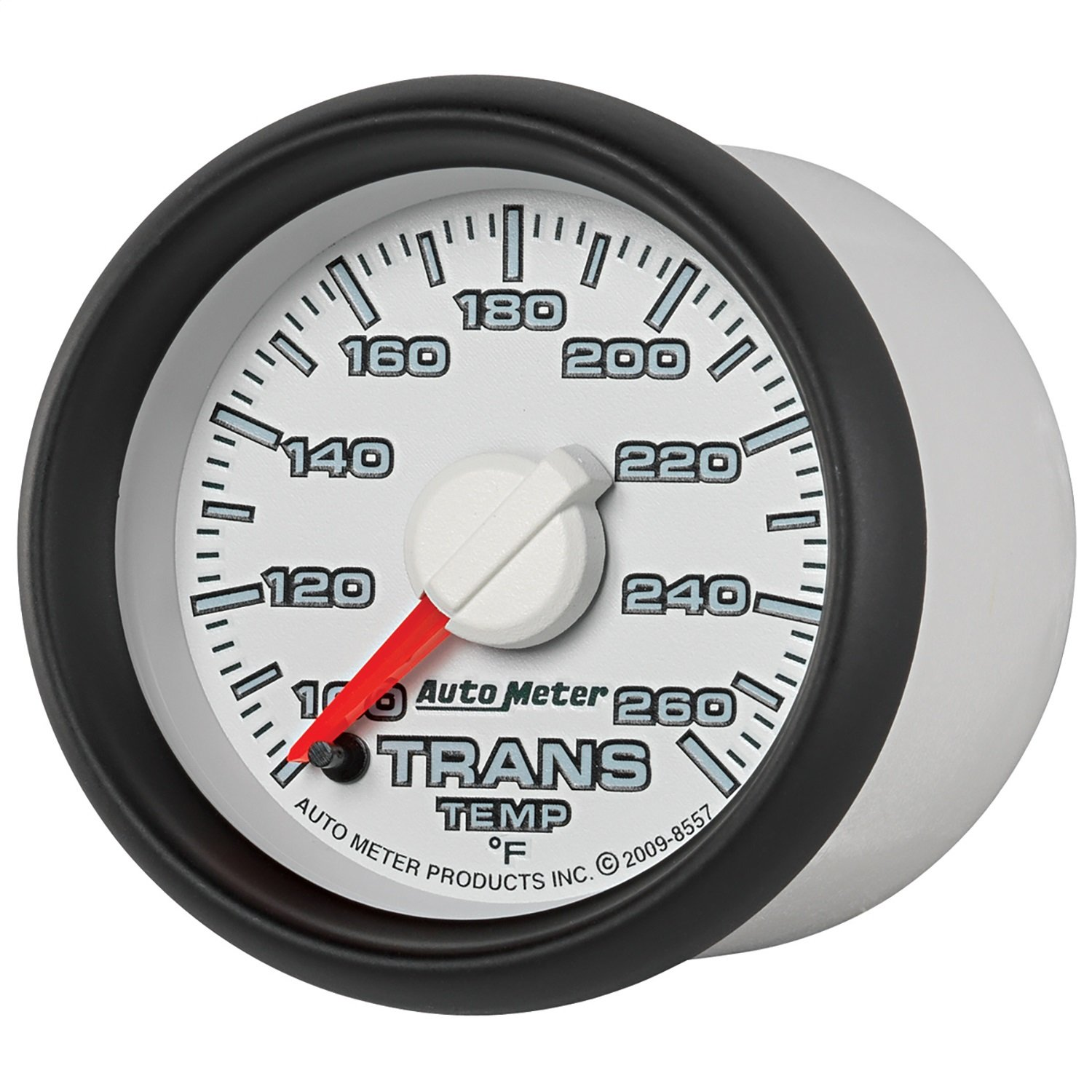 Auto Meter 8557 Factory Match Transmission Temperature Gauge by Auto Meter