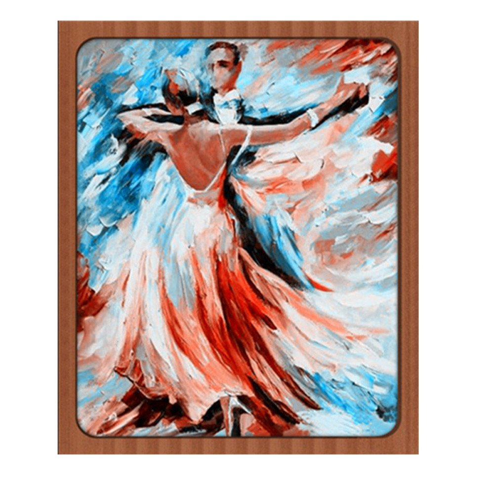 Sttech1 DIY 5D Diamond Painting by Number Kits, Classic Tango Dance Diamond Embroidery Paintings Pictures Arts Craft for Wall Stiker Home Decor (Dance) by Sttech1 (Image #1)