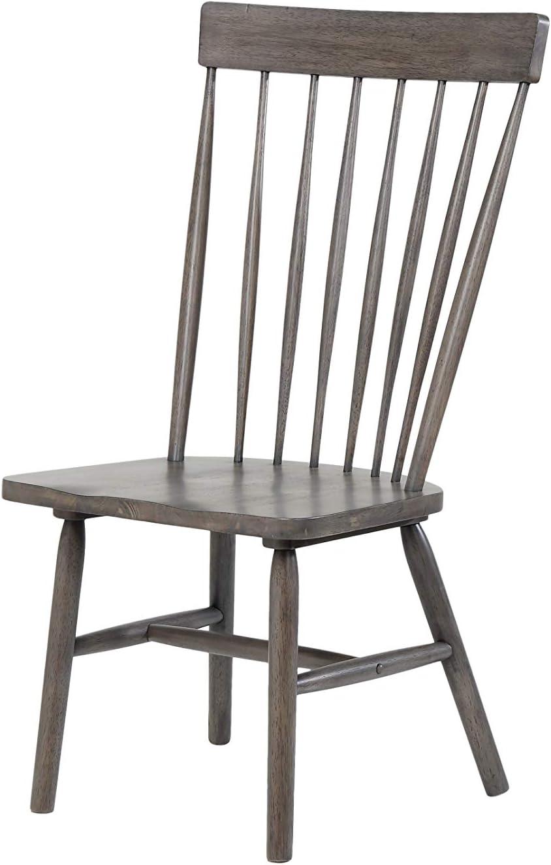 ACME Furniture 72417 Beistellstuhl Adriel, 2 er Set, antik
