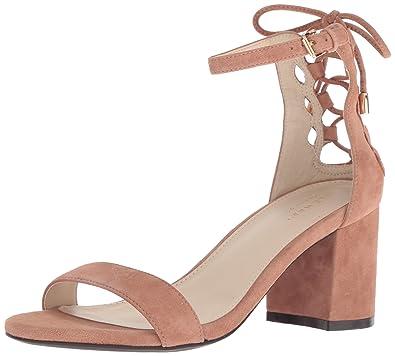 4d25822ad1c Cole Haan Womens Leah Sandal 65mm 10 Mocha Mousse Suede
