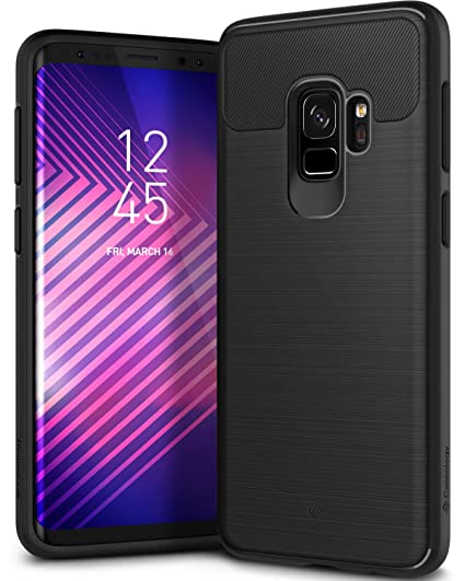 pretty nice abb79 372f4 Caseology Vault for Galaxy S9 Case (2018) - Rugged Matte Finish - Black