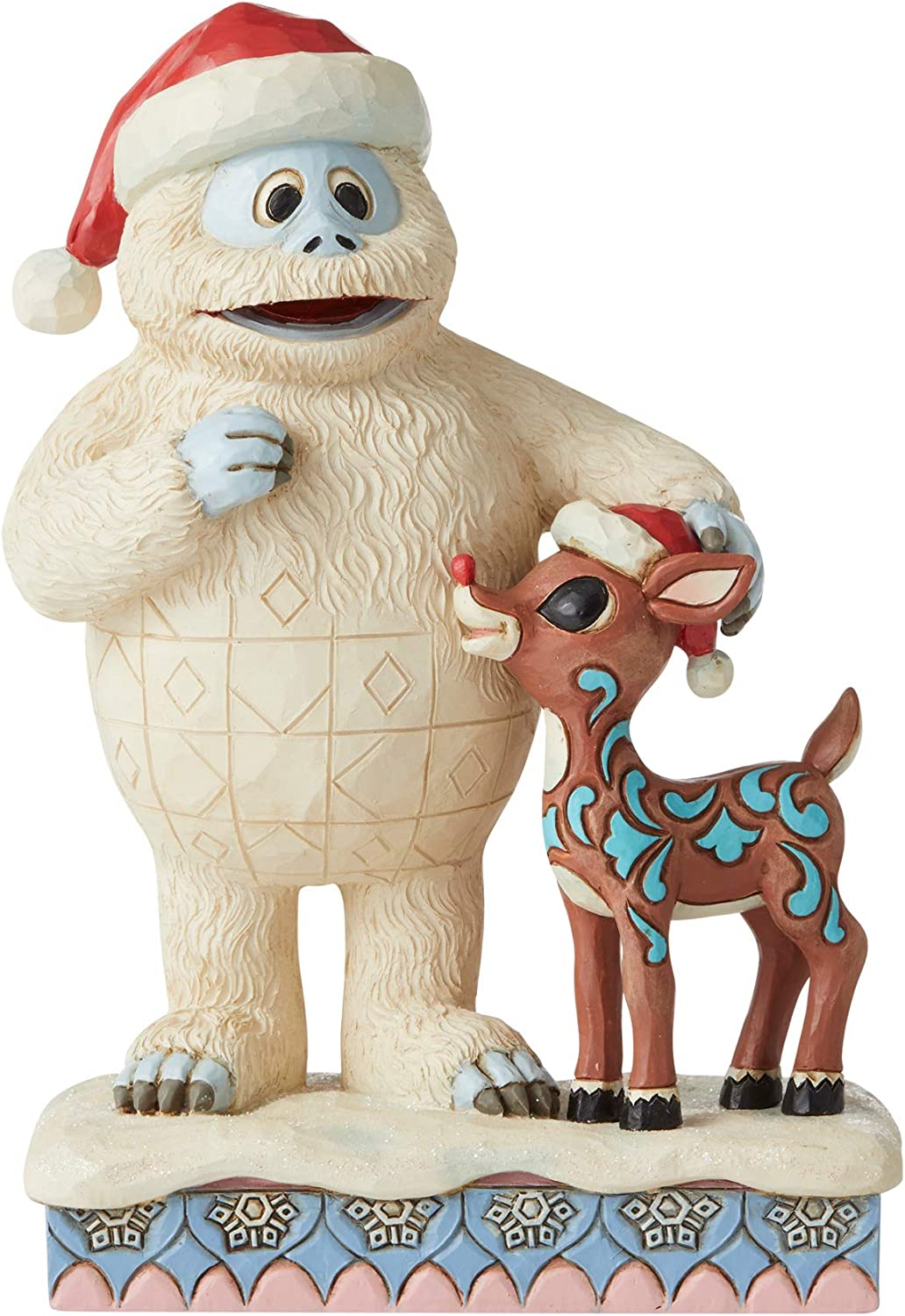 Enesco Rudolph Traditions by Jim Shore Bumble with Rudolph Figurine