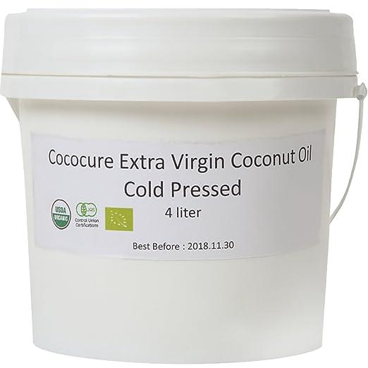 COCOCURE 有機 JAS オーガニック フェアトレード エキストラ バージン ココナッツオイル