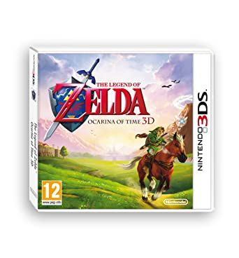 Nintendo 3ds Zelda Ocarina Of Time Amazon Es Videojuegos
