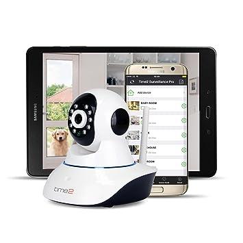 IP Camera Cámara de vigilancia WiFi Wireless Pan/Tilt 720P – Detector de Movimiento y