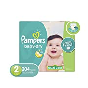 Pampers Diapers Size 2 (OLD)