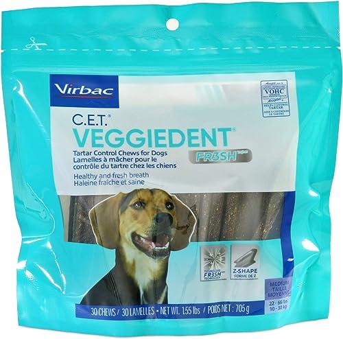 C.E.T.-VeggieDent-Chews,-Regular,-30-Chews