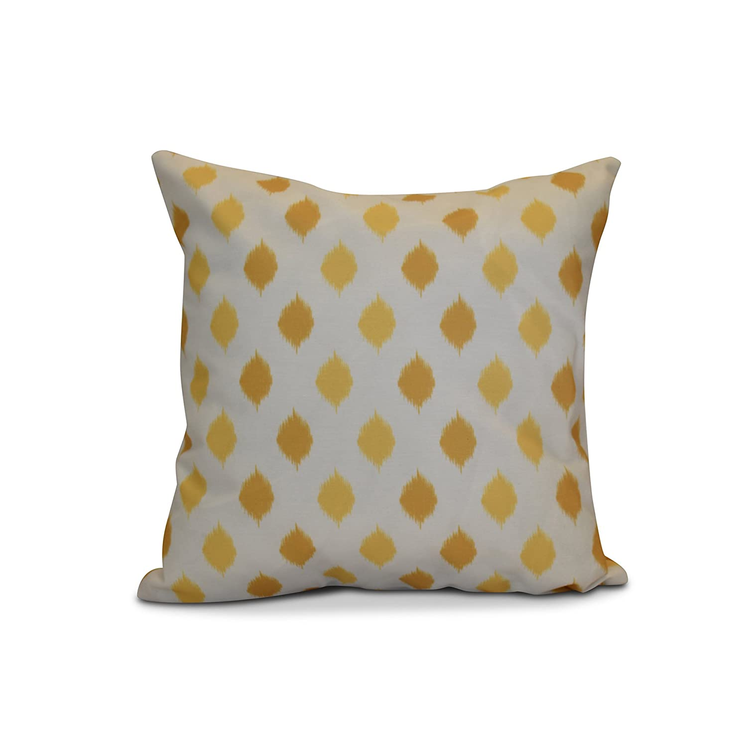 Decorative Holiday 26x26 Yellow E by design PGHN571YE9YE10-26 26 x 26 inch
