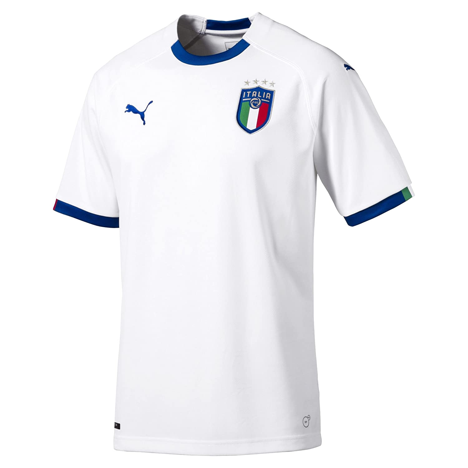 2018-2019 Italy Away Puma Football Shirt B07864YJN4 Large Adults|White White Large Adults