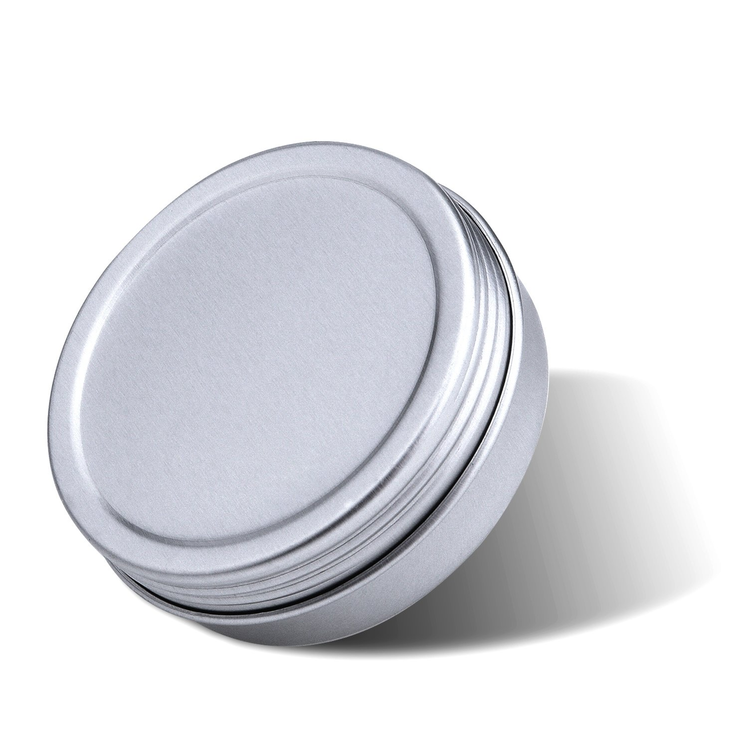 1 oz Outus Screw Top Round Aluminum Cans Screw Lid Containers 24 Pack