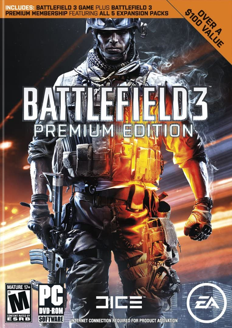 Amazon com: Battlefield 3: Premium Edition [Online Game Code]: Video