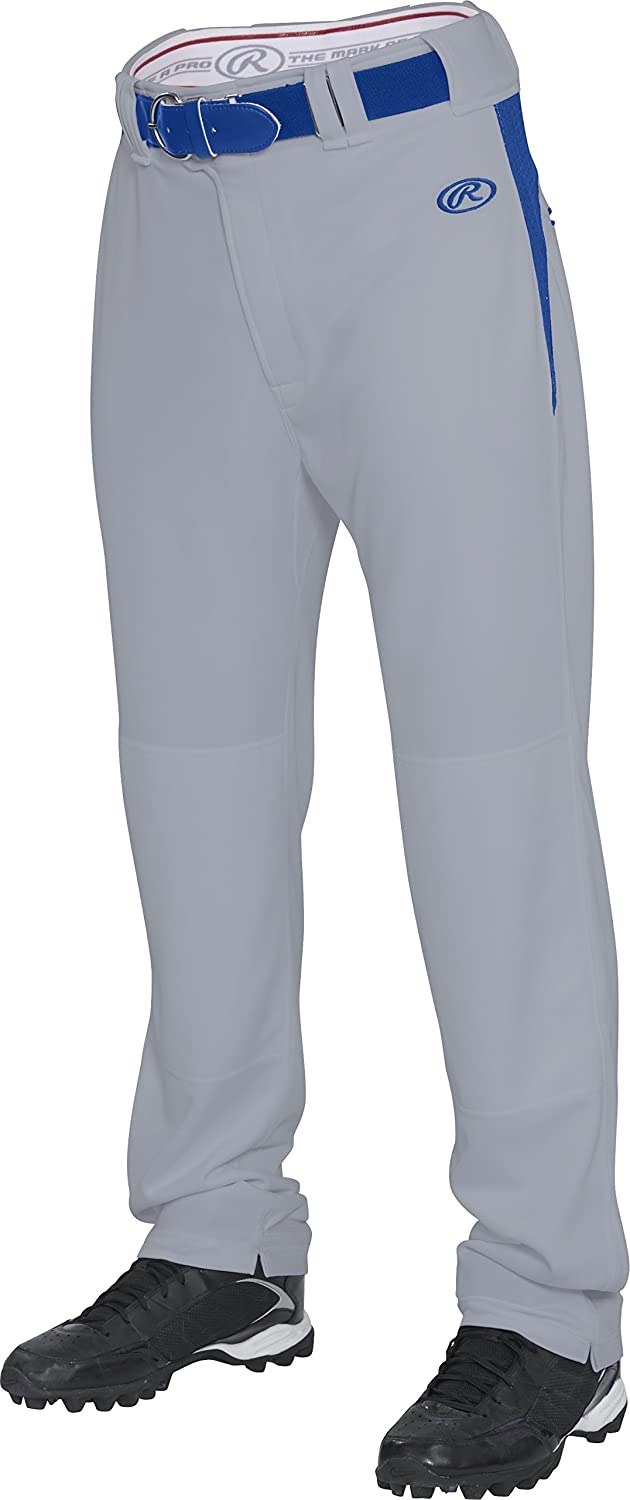 Rawlings Youth semi-relaxedパンツwithウエスト挿入 B013I2IN6E X-Large|グレー/ロイヤル グレー/ロイヤル X-Large