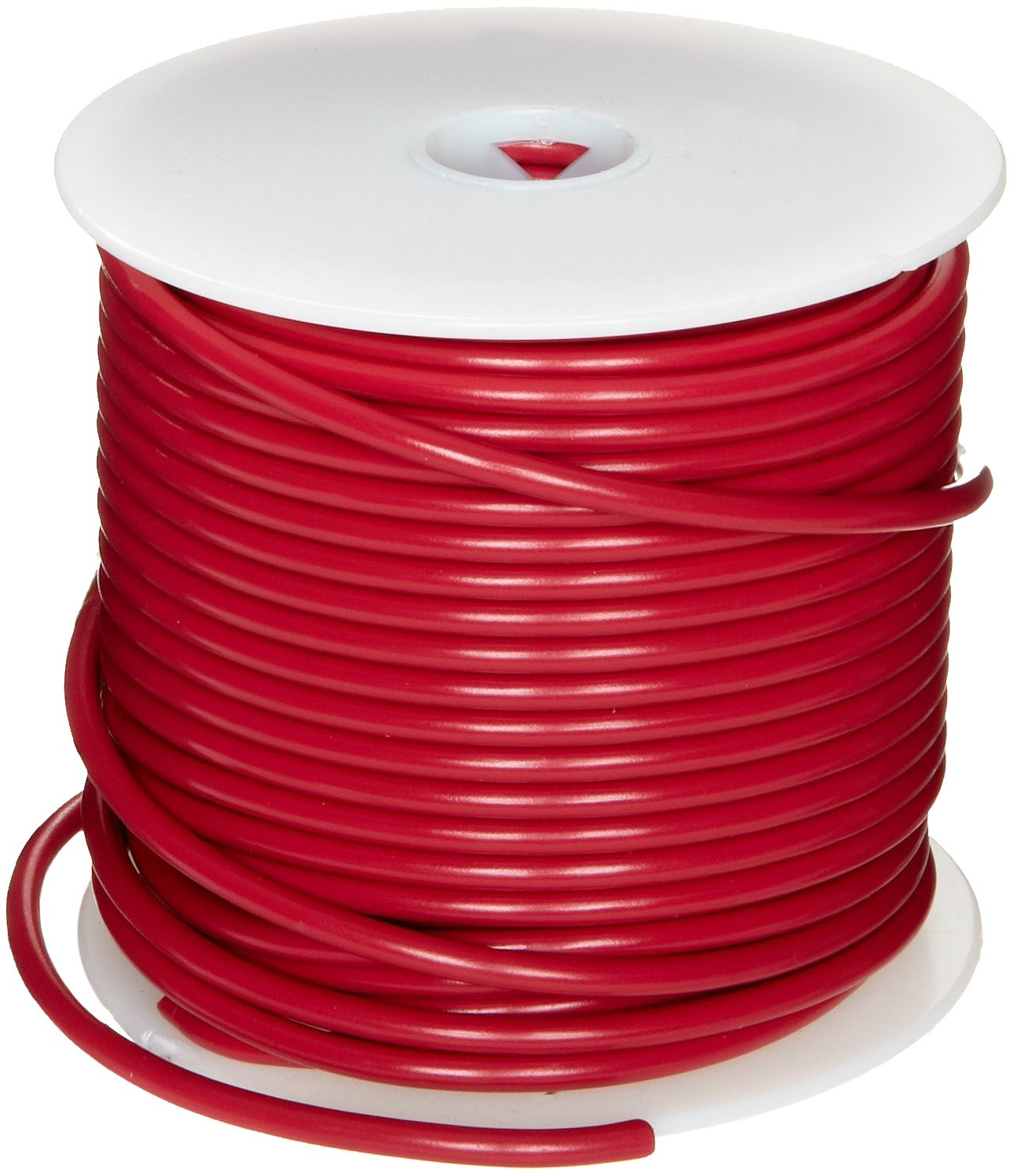 Pack of 1 0.080 Diameter 1000/' Length GPT Automotive Copper Wire Red 12 AWG 1000 Length 0.080 Diameter Small Parts BEM12-2 Pack of 1