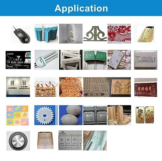 Amazon.com: Cycjet - Máquina de marcación láser de fibra de ...