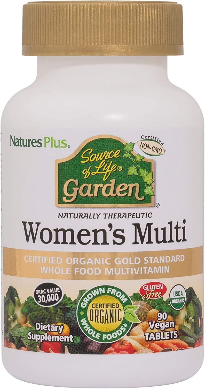 NaturesPlus Source Elegant of Cheap sale Life Garden Multivitamin Women's Organic -