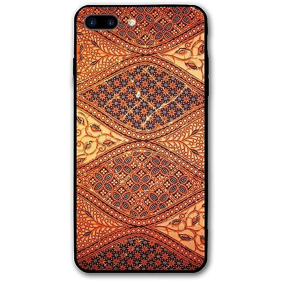 Amazon Com 5 5 Inch Iphone 8 Plus Case Batik Wallpapers Logo Anti