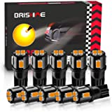 BRISHINE 194 LED Bulbs Extremely Bright Amber Yellow 5630 Chipsets 168 2825 175 T10 W5W LED Replacement Bulbs for Car…