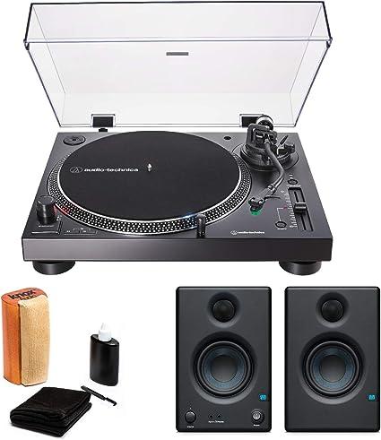 Amazon.com: Audio-Technica AT-LP120X-USB - Tocadiscos USB ...