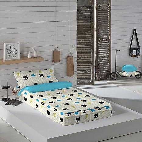 Iceberg Superhero - Saco nórdico para cama de 90 cm (sin relleno)