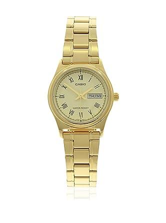 d99e6ac3660 Relógio Feminino Analógico Casio LTP-V006G-9BUDF - Dourado  Amazon ...