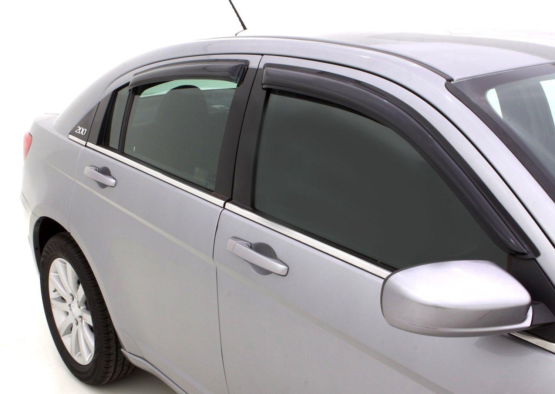 4 Piece Auto Ventshade 94458 Original Ventvisor Window Deflector