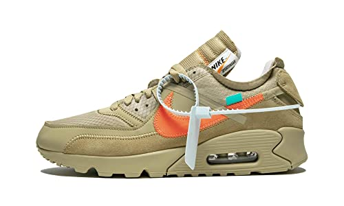 a53555f4c33 Nike Air Max 90 x Off White - Parachute Beige Bright Mango Trainer   Amazon.co.uk  Shoes   Bags