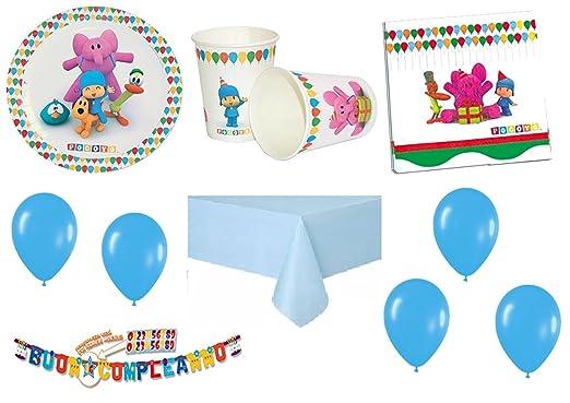 Pocoyo coordinato Niños Cumpleaños adornos fiestas - Kit N ...