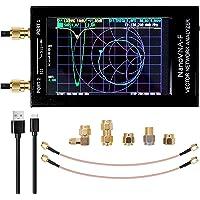 Analizador de red vectorial NanoVNA-F 4.3INCH, pantalla digital LCD, pantalla táctil, analizador de antena UHF VHF MF de…