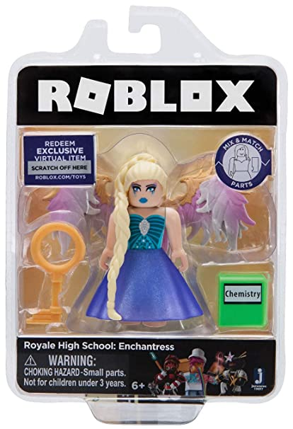 Roblox Gold Collection Royale High School Enchantress Single Figure Pack With Exclusive Virtual Item Code Original Version - roblox codes gear codes rainbow sword