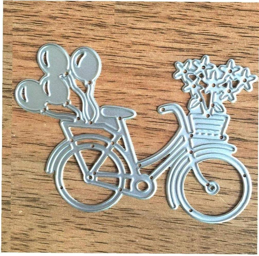 Dies Coupe Classique Embossage Forme V/élo Stencil Mod/èle En M/étal Moule Pour Bricolage Scrapbooking M/étal Embosser Album Paper Craft Card